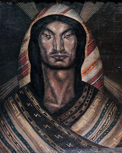Óleo s. lienzo de Cecilio Guzmán de Rojas